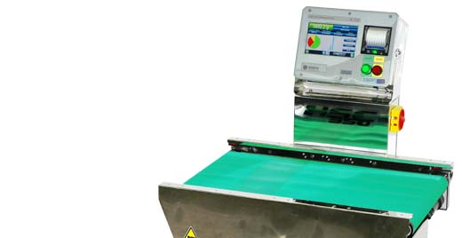 "The HSC350 ""H"" series checkweighers provide an answer to this requirement since they are able to handle and weigh loads of up to 60 kg at high speed."