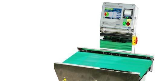 """Les trieuses pondérales série """"H"""" sont la réponse à cette exigence en permettant la manutention et le pesage à haute vitesse et précision de charges jusqu'à 60 kg."""